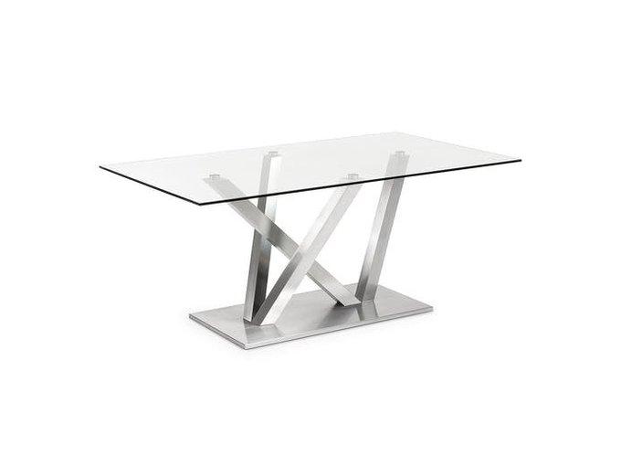 Обеденный стол Julia Grup Uve со столешницей из закаленного стекла