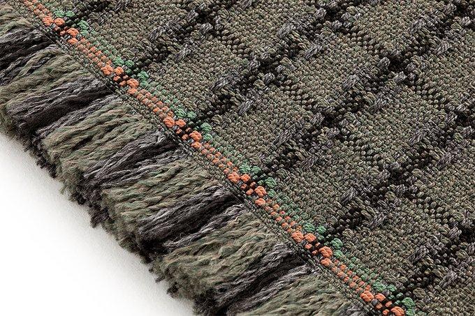 Ковер Checks green серо-зеленого цвета 200х300