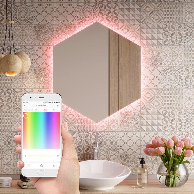 Зеркало Gecsa с подсветкой