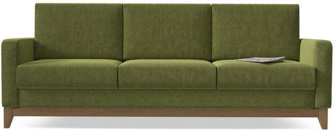 Диван-кровать Нордик Green зеленого цвета