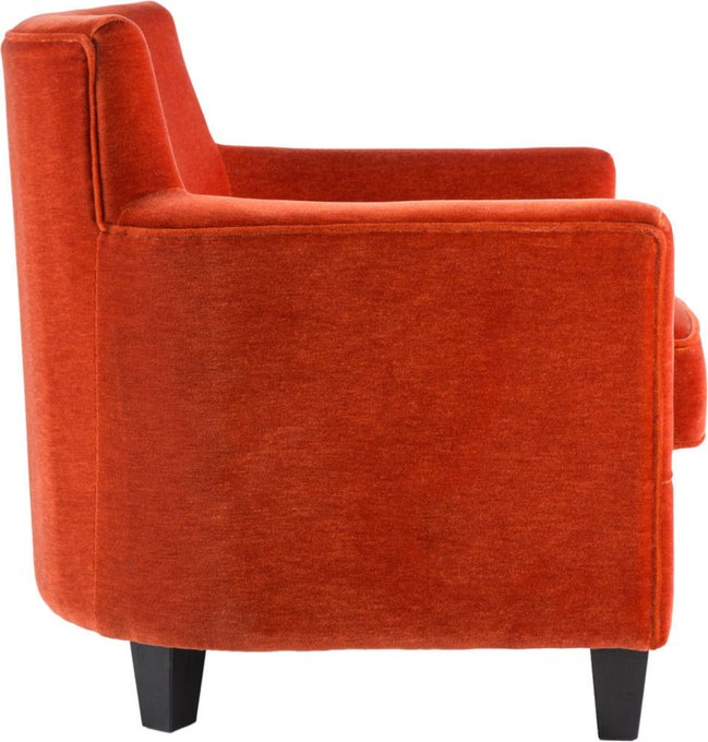 Кресло с обивкой из ткани