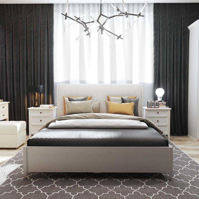 Кровать Маргарет 160х200 с подъемным механизмом  цвета Дуб белладжио