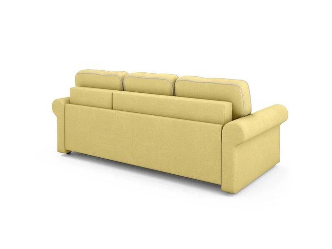 Угловой Диван-кровать Tulon правый желтого цвета