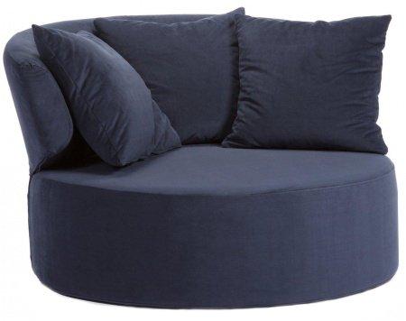 Кресло Beverly темно-синего цвета