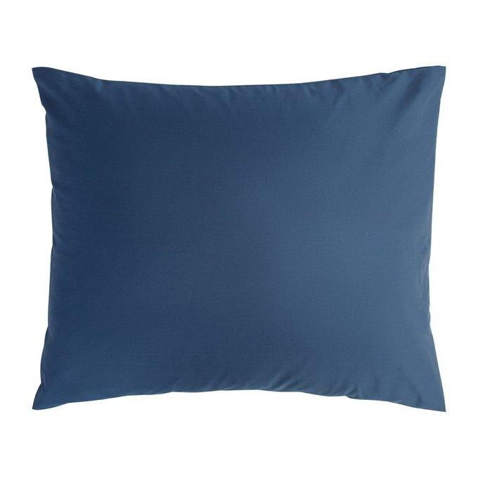 Набор из двух наволочек темно-синего цвета