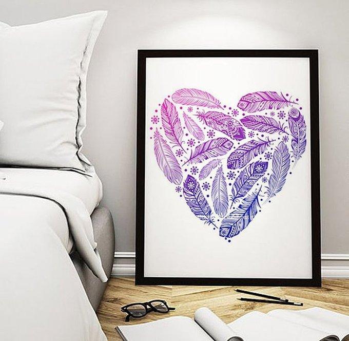 """Постер """"Heart"""""""