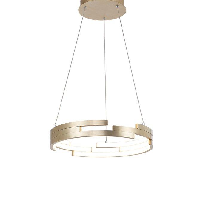 Подвесной светильник gold с отделкой матовое золото
