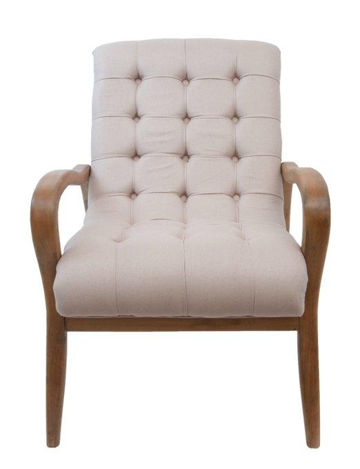 Кресло Elisio бежевого цвета