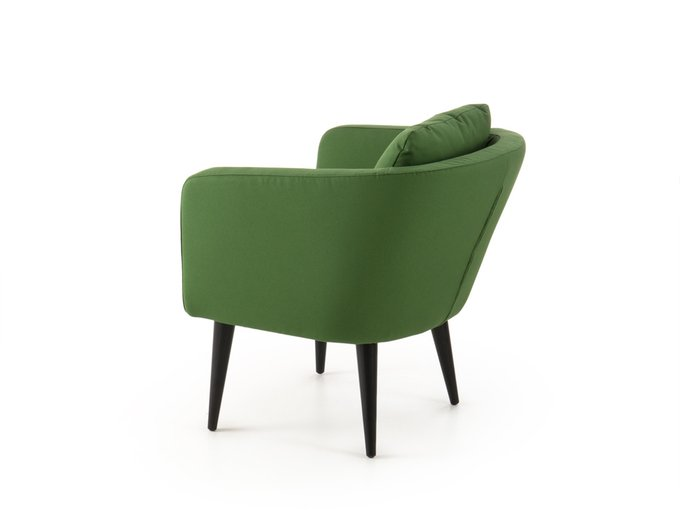 Кресло Алес зеленого цвета