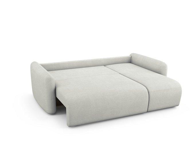 Угловой Диван-кровать Arti правый белого цвета