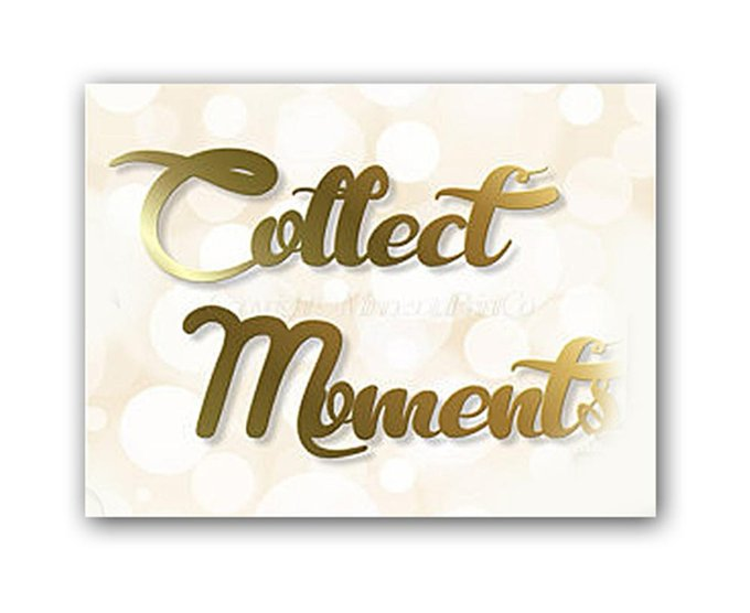 "Постер ""Collect moments"""