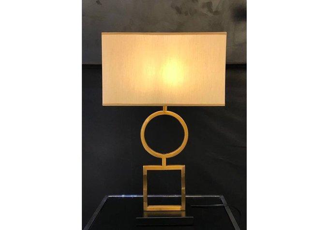 Настольная лампа Caesar с белым абажуром