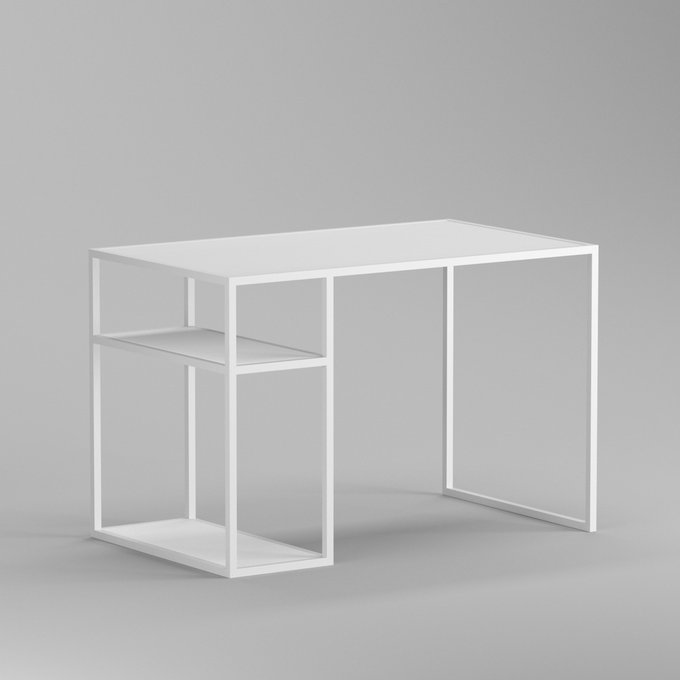 Письменный стол Romero white белый дуб матовый лак