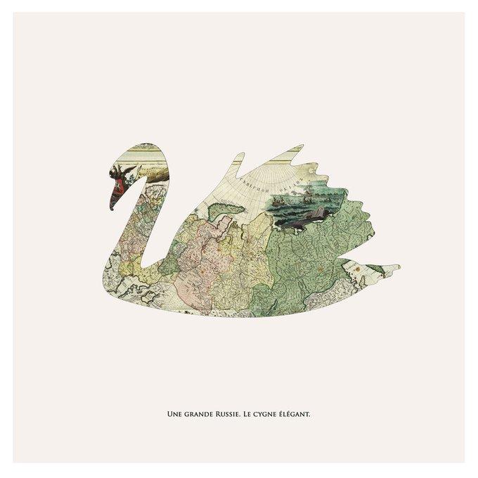 """Картина """"Большая лебедь"""""""