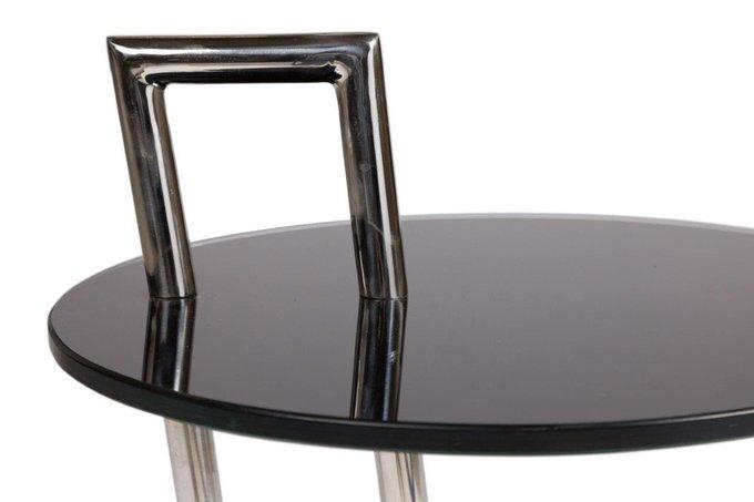 Стол сервировочный Janet из стекла и металла