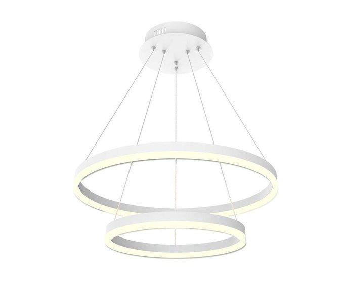 Подвесной светодиодный светильник Тор-Эко белого цвета