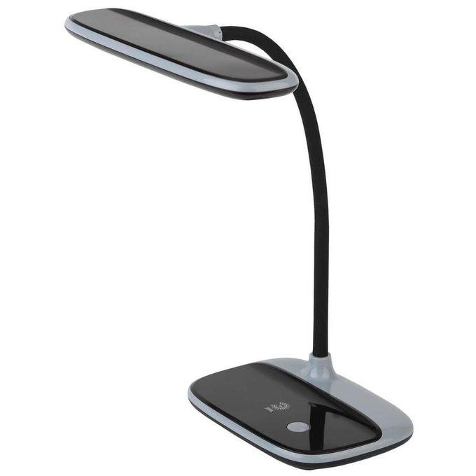 Настольная лампа Nled черно-серого цвета