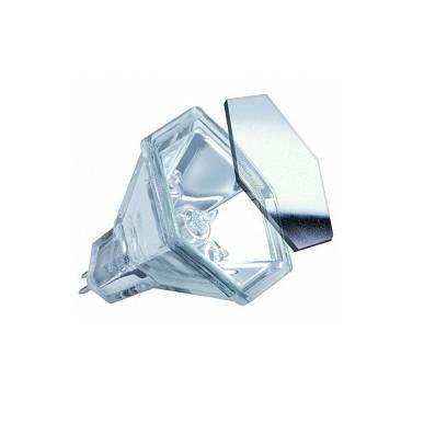 Лампа галогенная шестиугольная прозрачная серебряного цвета