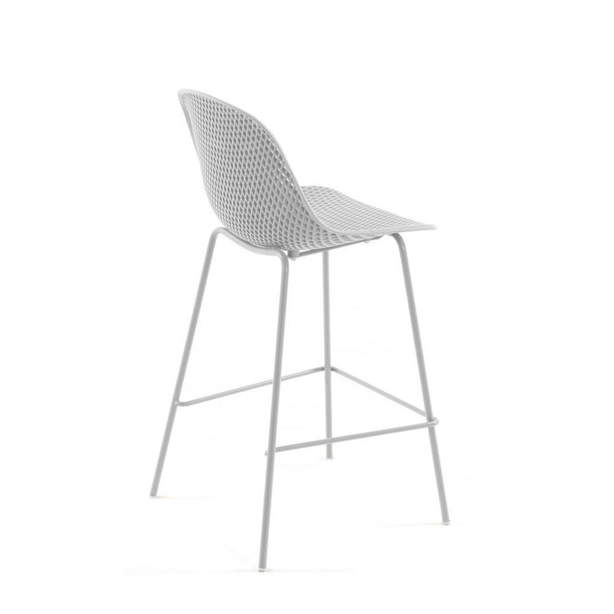 Полубарный стул Quinby белего цвета