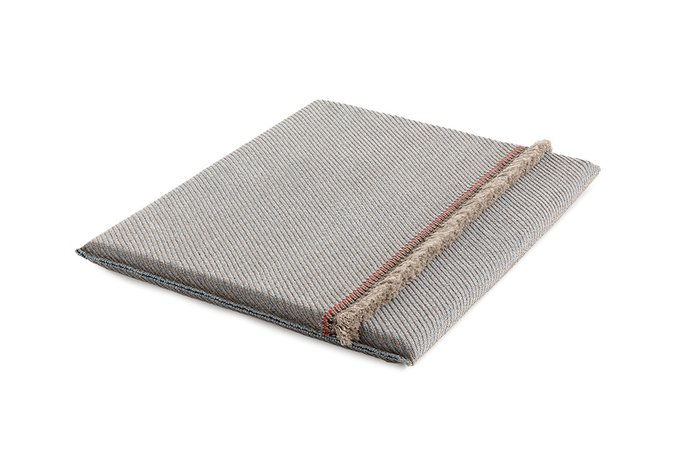 Двухспальный матрац Diagonal almond-blue 140х160