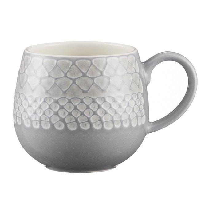 Чашка Impressions серого цвета