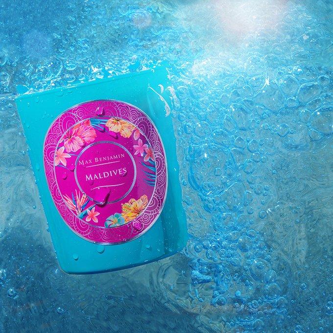Ароматическая свеча Maldives в  подарочной упаковке
