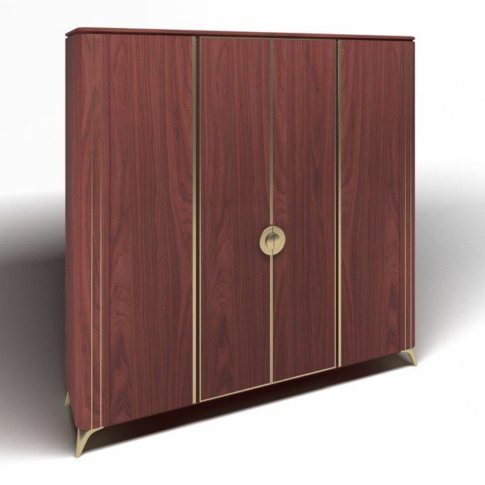 Шкаф платяной Luna цвета Марсала