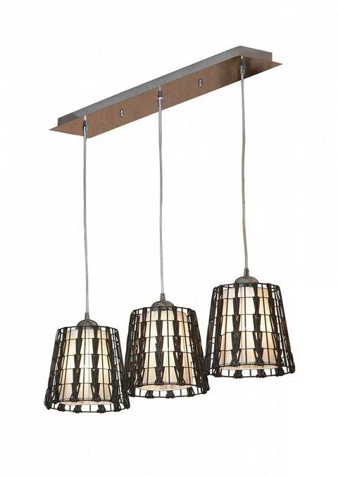 Подвесной светильник Fenigli коричневого цвета