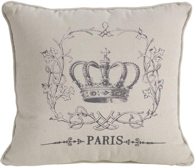 Декоративная подушка с короной Your Majesty III
