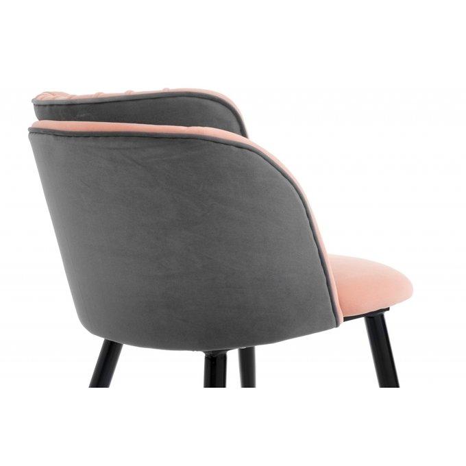Стул Orly розово-серого цвета