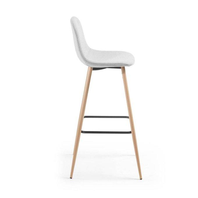 Полубарный стул Nilson светло-серого цвета