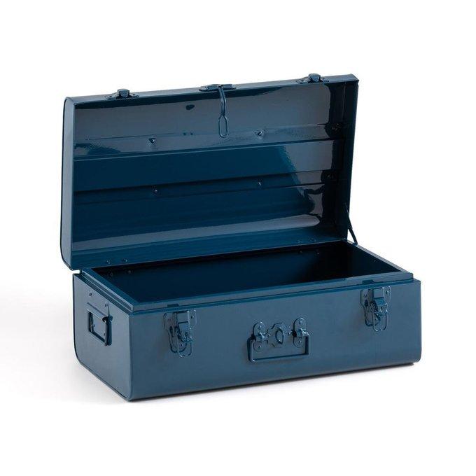 Сундук-чемодан Masa темно-синего цвета