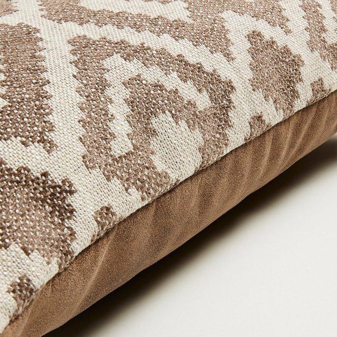 Чехол для подушки Malani из комбинированной ткани 30x50