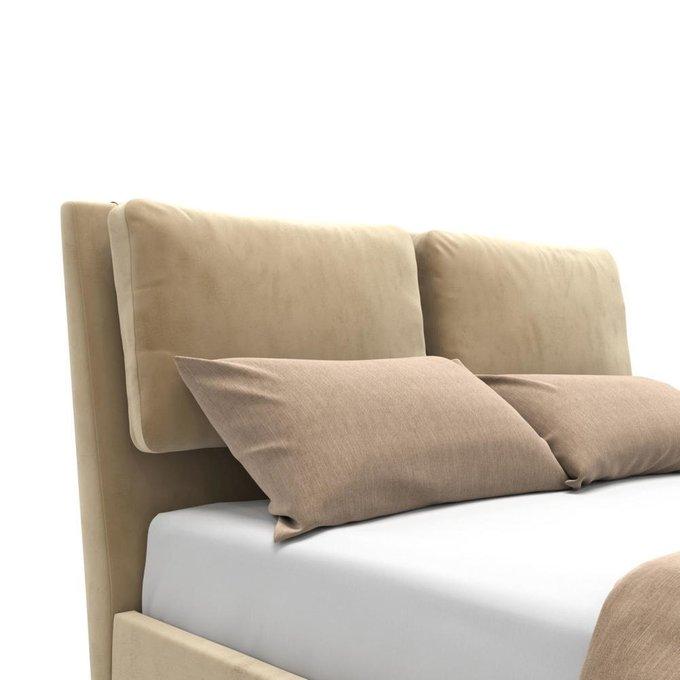 Кровать Parc с подъемным механизмом  бежевая 160х200