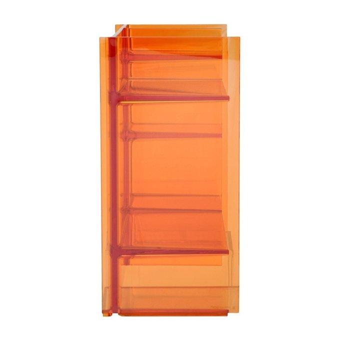 Стеллаж Sound-Rack оранжевого цвета