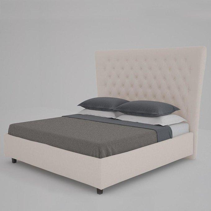 Кровать QuickSand Коричнево-Серая 160х200