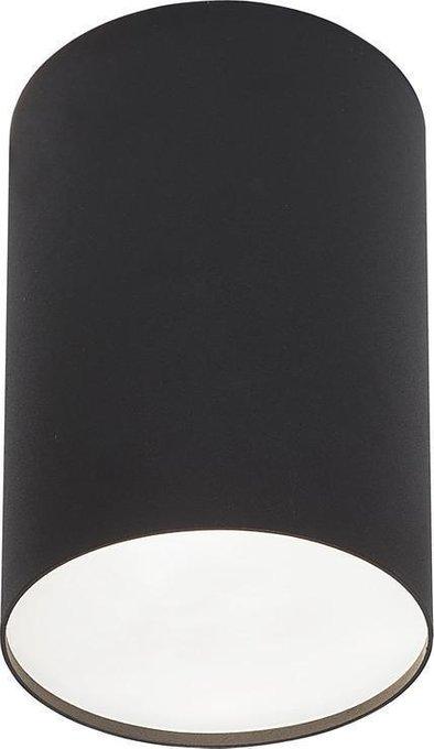 Потолочный светильник Point Plexi черного цвета