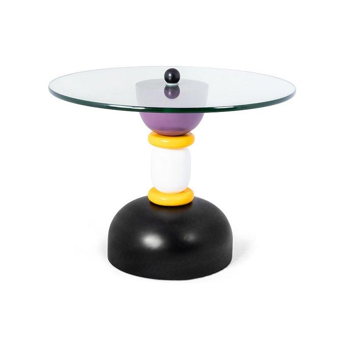 Кофейный столик Camellia с круглой столешницей