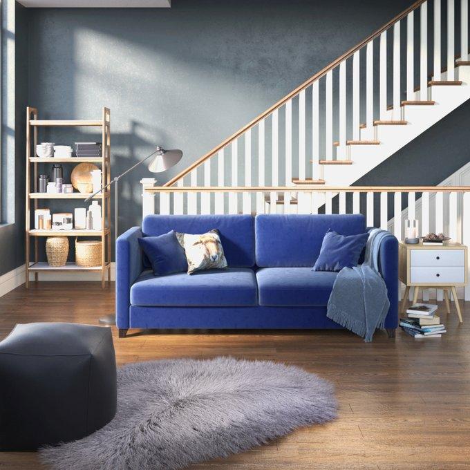 Диван-кровать Bari MTR синего цвета бежевого цвета