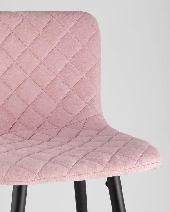 Барный стул Морган розового цвета