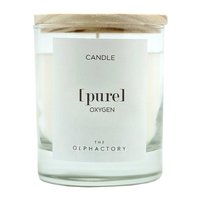 Свеча ароматическая pure - кислород 40 ч