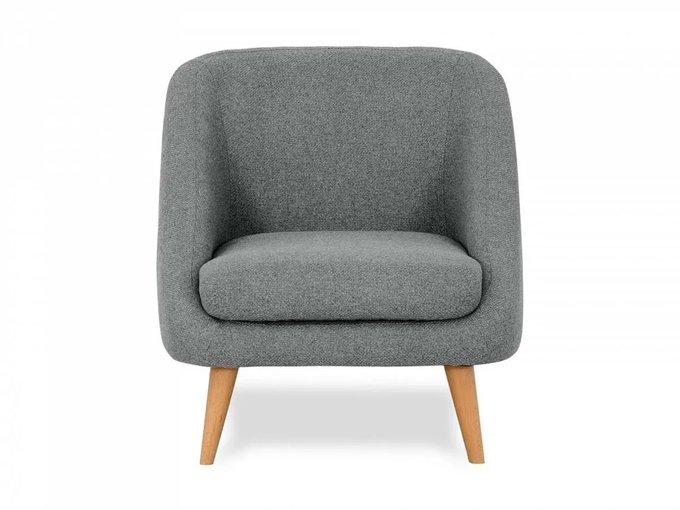 Кресло Corsica серого цвета