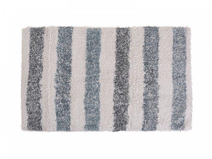 Коврик Stripy бежево-серого цвета 45х75