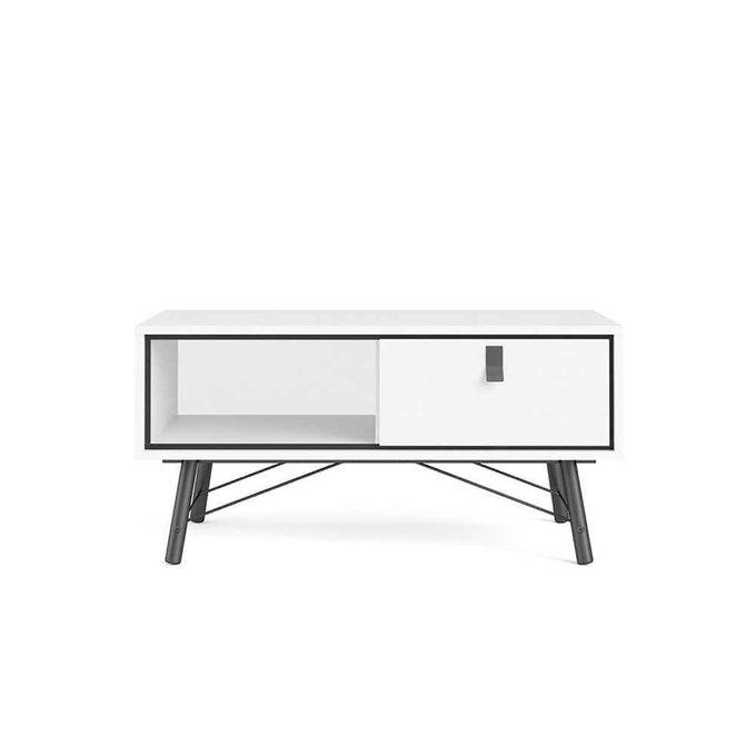Журнальный столик RY Рай белого цвета