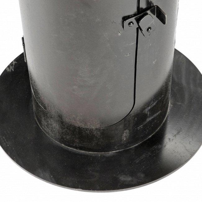 Обеденный стол Stove со столешницей из массива с искусственным старением