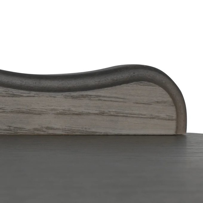 Этажерка-стеллаж Джульетта-4 серый ясень
