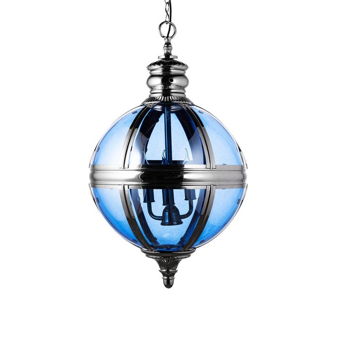 Подвесная люстра Residential Hatboro из металла и стекла
