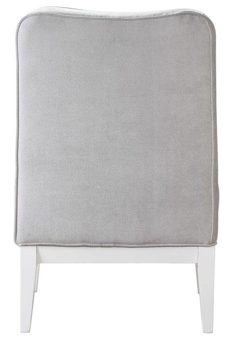 Кресло Giron Сильвер светло-серого цвета