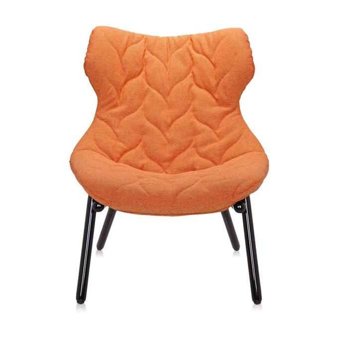 Кресло Foliage оранжевого цвета