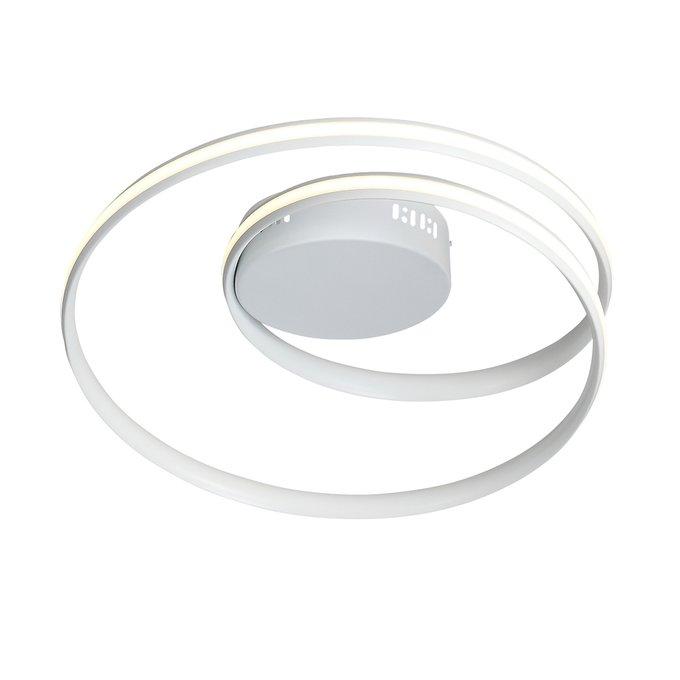 Потолочный светодиодный светильник Federe белого цвета